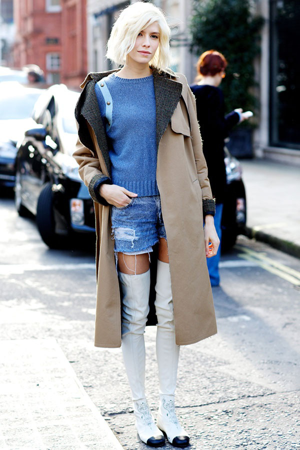 Ideas To Complete Your Outfit With Thigh High Boots