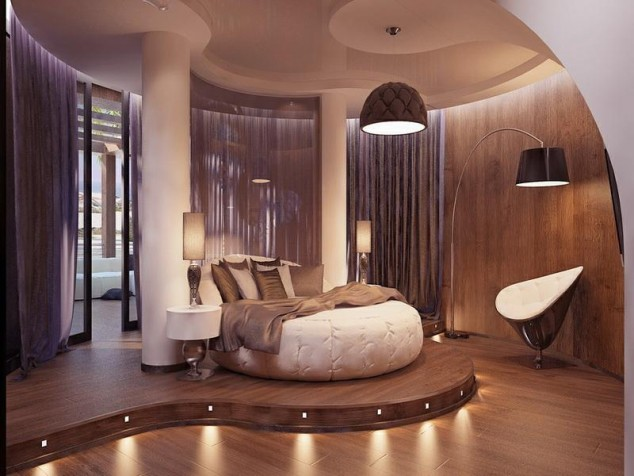 15 Incredibly Modern and Glamour Bedrooms That You Will ... on Room Decor Pictures  id=18759