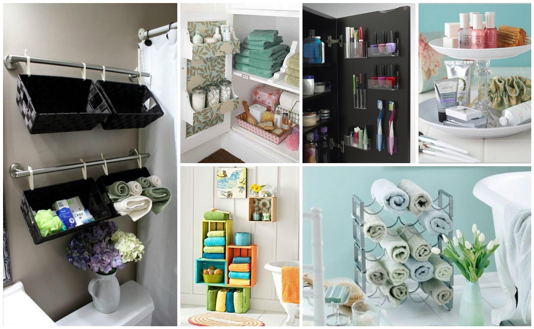18 creative & useful diy storage ideas for tiny bathrooms 18 Storage Ideas