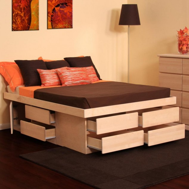 17 Multi Functional Beds With Storage Design Ideas For