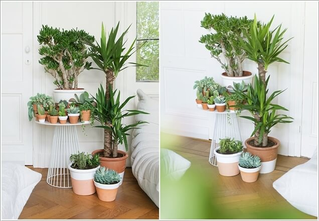AD Amazing Ideas For Indoor Plants 02 12 Creative Ideas How To Display Your Indoor Plants