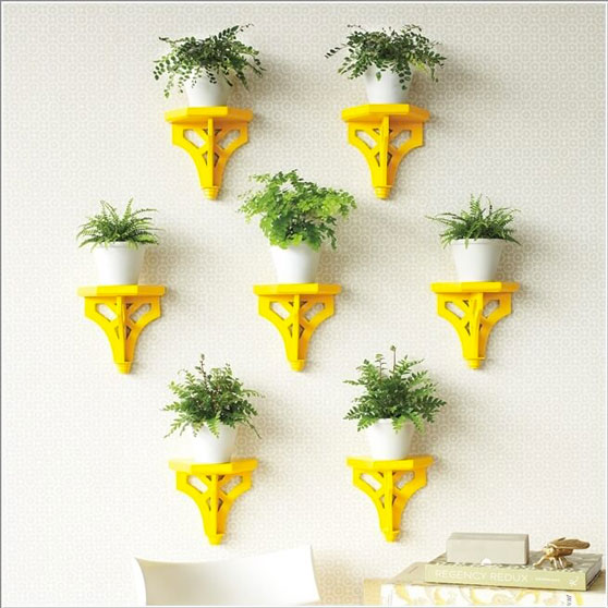 AD Amazing Ideas For Indoor Plants 07 12 Creative Ideas How To Display Your Indoor Plants