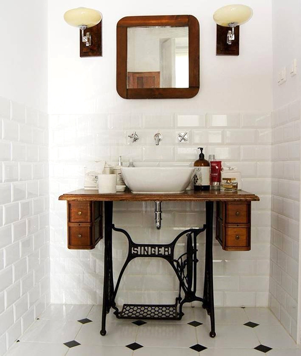 Recycle Old Stuff To Make Small Diy Bathroom Vanities That Are Big On Style