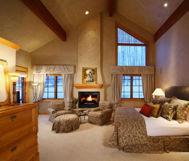 Home Bars Design Ideas: 15 Elegant And Inspiring Master Bedroom Fireplace Ideas