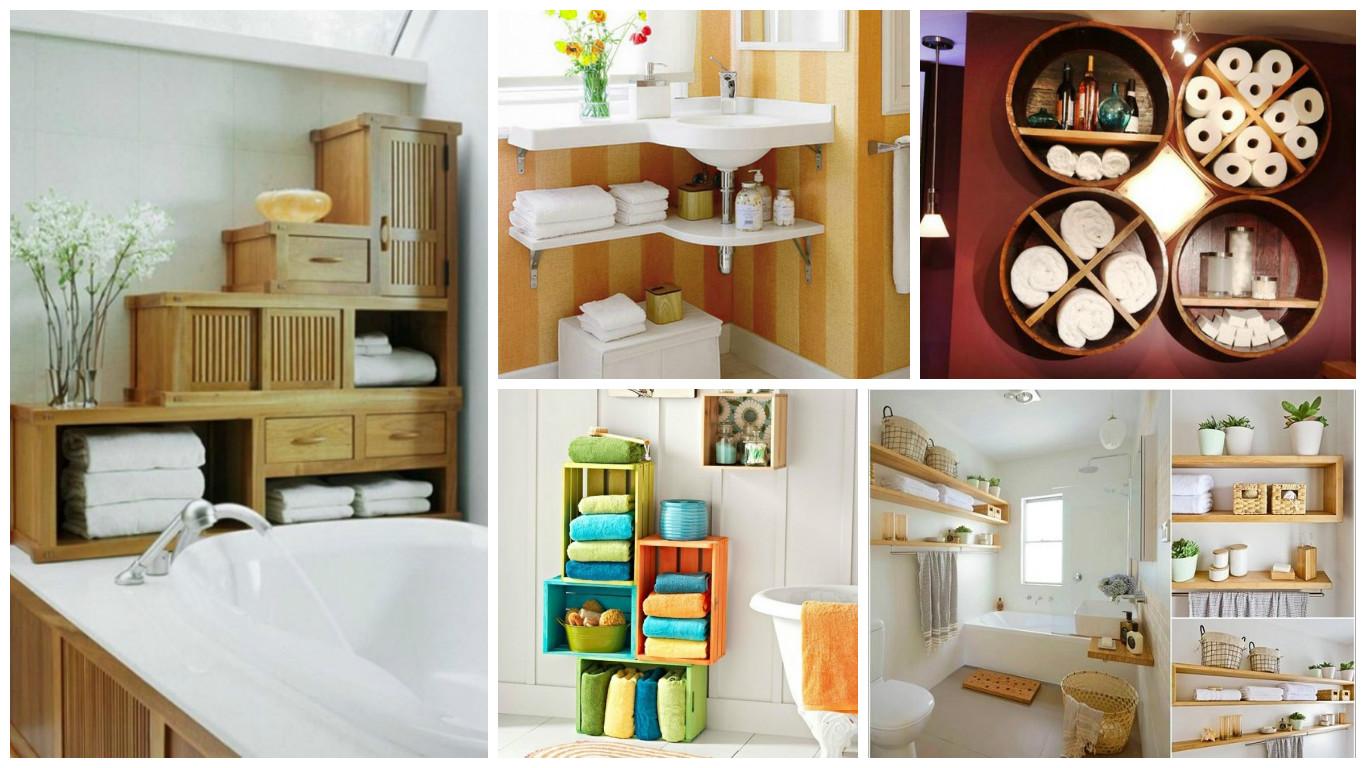 16 inspirational bathroom storage ideas that combine functionality 16 Storage Ideas