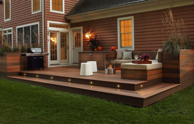 18 Impeccable Deck Design Ideas For The Patio That Add ... on Patio With Deck Ideas id=47462