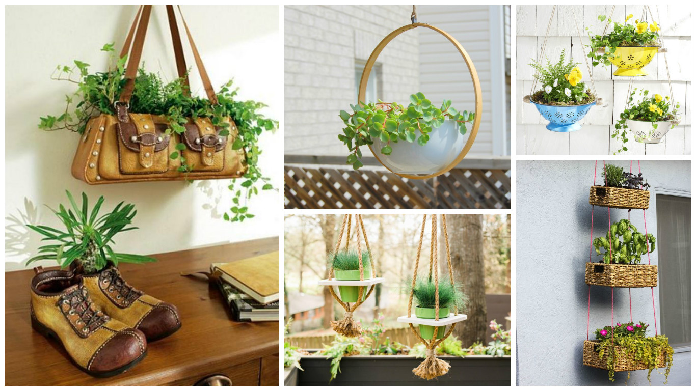 12 Excellent DIY Hanging Planter Ideas For Indoors And ... on Hanging Plants Ideas  id=12082