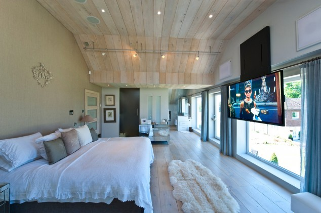 modern bedroom with tv 16 contemporary and modern bedroom designs with tv 16317