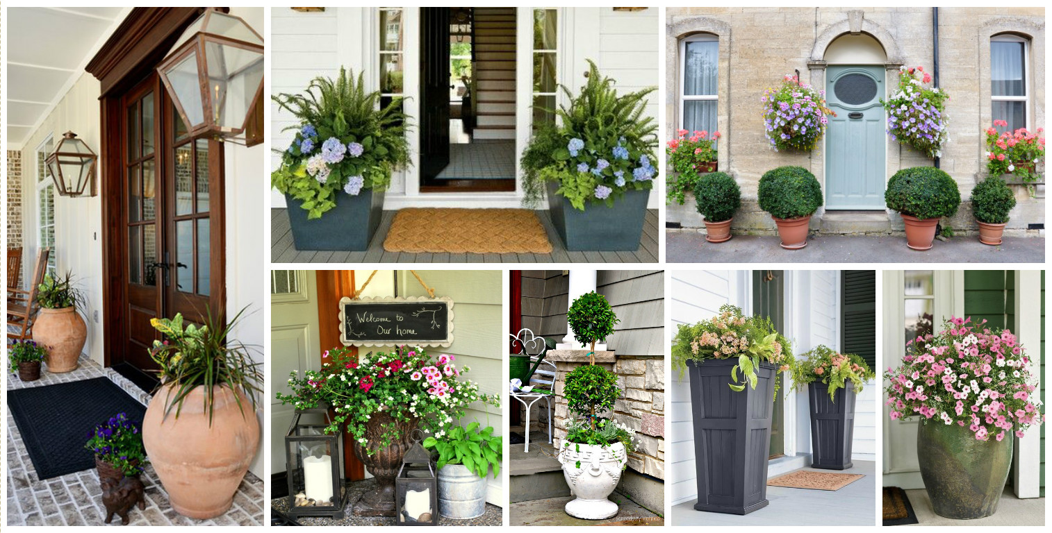 15 Gorgeous Front Door Flower Decorations To Inspire You Personalize Your Home