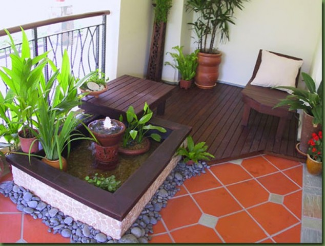 Balcony Garden Apartment Privacy