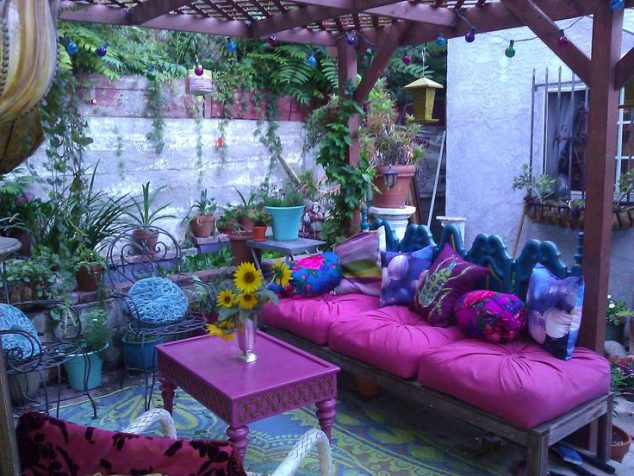13 Colorful And Youthful Patio Decorating Ideas That Will ... on Colorful Patio Ideas id=55993