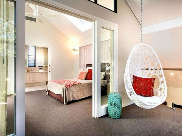hanging chairs for bedroom 15 indoor hammock and relaxing swings to forget about the 15519
