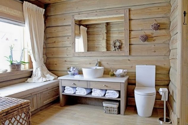Country Style Bathroom13 634x423 16 French Bathroom Ideas That You Cant Miss Today
