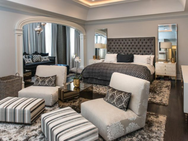 15 exotic bedroom seating area for extra comfort 20829 | lovely master bedroom sitting room ideas master bedroom with sitting area 634x476