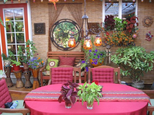 13 Colorful And Youthful Patio Decorating Ideas That Will ... on Mexican Patio Ideas id=70437