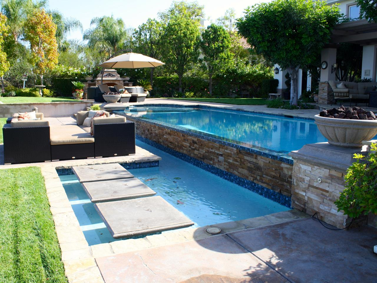 Cohen Outdoor Pool Stepping Stones