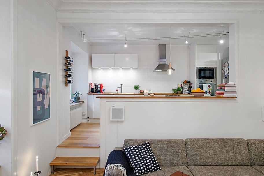 Semi-Loft-Kitchen-Concept-To-Beautify-Cool-Swedish ...