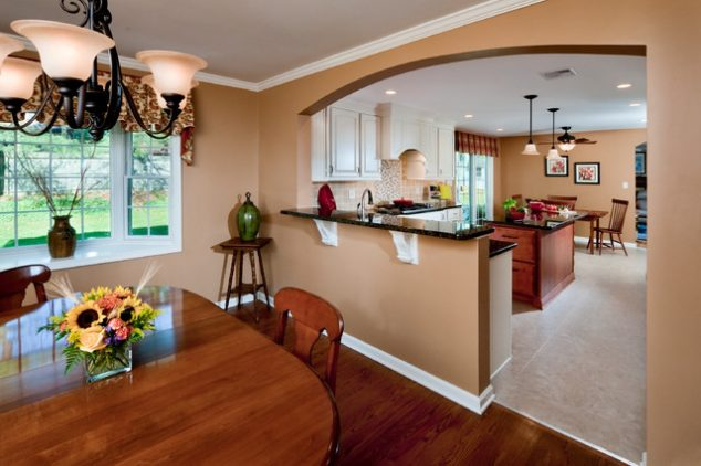 kitchen half wall ideas 13 affordable half wall in kitchen for breakfast bar idea 19620