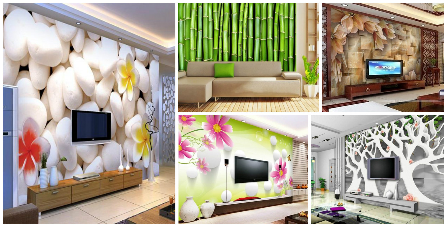 16 Creative 3D Living Room Wallpaper Ideas That You Should ...