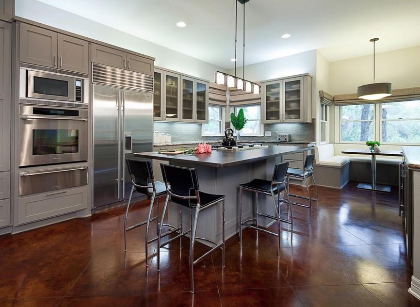 inspiring-open-floor-plan-kitchen-dining-living-room ...