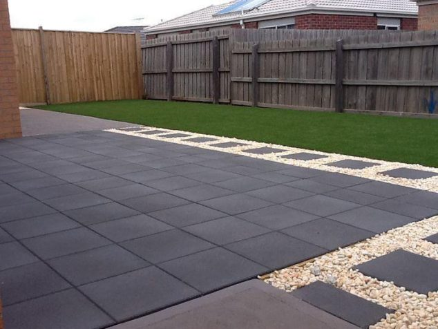 15 Ideas for White Sensation in Garden Landscaping With ... on Pebble Backyard Ideas id=63703