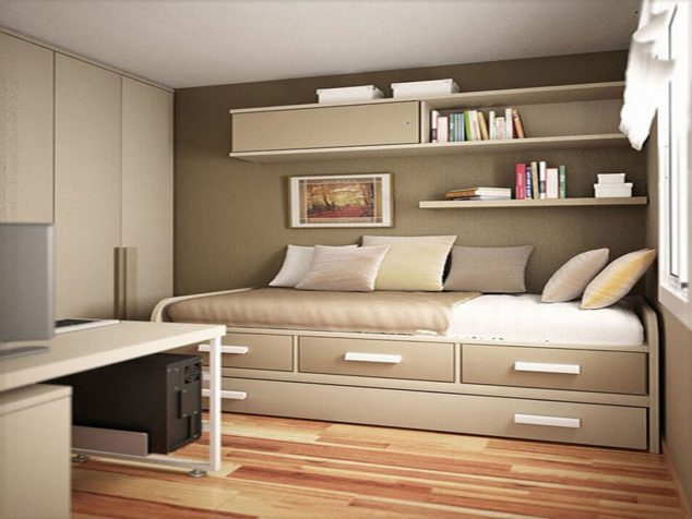 20 ideas how to design small bedroom that abound elegance 13212 | magnificent small bedroom colors for home decoration ideas designing with small bedroom colors 634x476