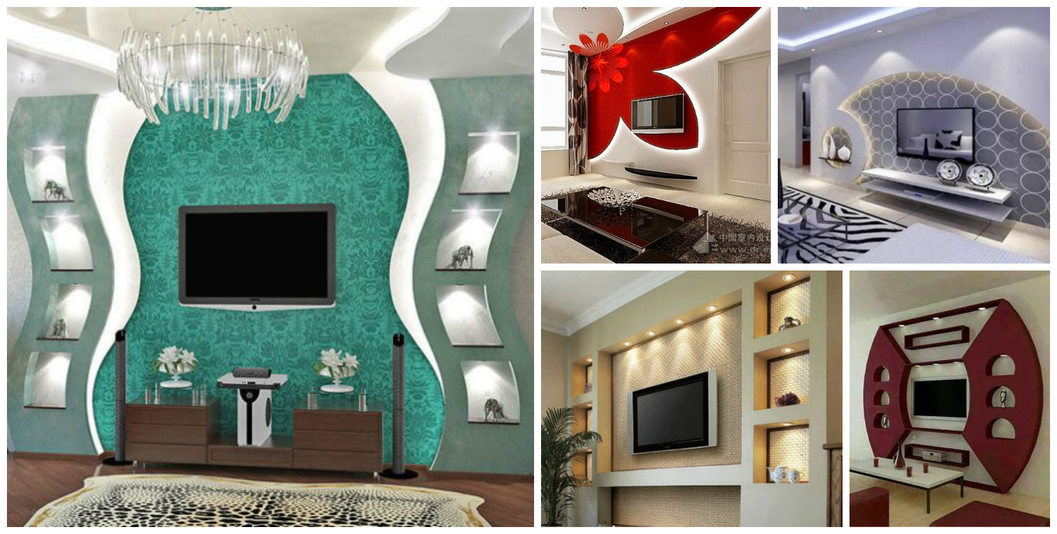 16 Sensational Gypsum Wall Decoration That You Will ...