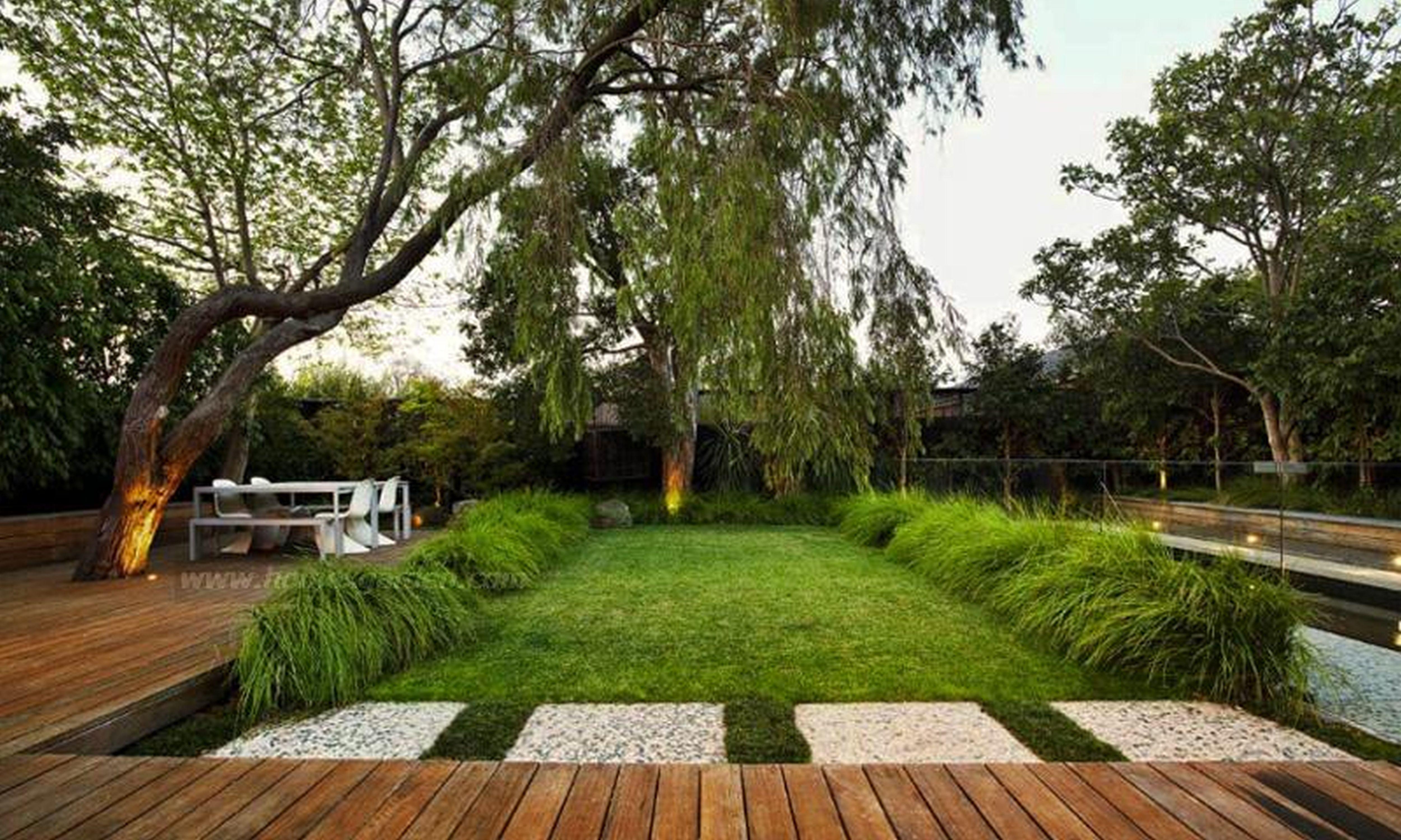 home-decor-garden-designs-ideas-2-handsome-garden-ideas ... on Backyard Landscape Design Ideas  id=77884