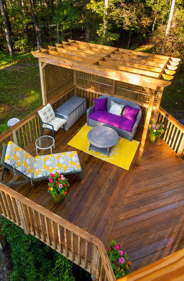 16 Amazing Outdoor Deck Design That Looks Like Restored Heaven on Wood Deck Ideas For Backyard id=45447