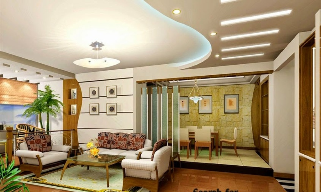 Elegant Gypsum Board Ceiling Ideas For Luxury Living Room Design