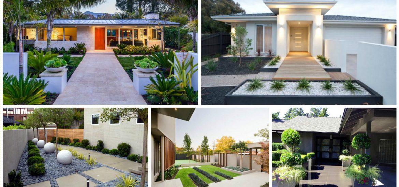 15 Creative Ideas About Modern Front Yard Design on Modern Yard Design id=40217