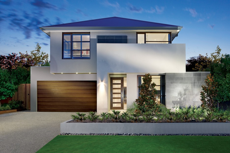 Luxurious-front-Yard-Design-of-Modern-House -Plans-with-Pools-Located-in-Bristol-with-Natural-Green-View-of-Front-Area-936x624  - Fantastic Viewpoint