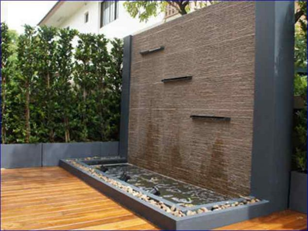 Water Feature Wall Ideas 634x476 15 Stunning Garden Features That Will Leave You Schless